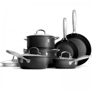 OXO 10 Piece Cookware Set - Hard Anodized/Non-Stick