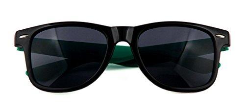 Joyibay Unisexe Décoration Green Ancien Lunettes des Protection Air Lunettes Dark des Soleil des Plein de UV de Polarisé Soleil Lunettes de Soleil de BaaqwIr