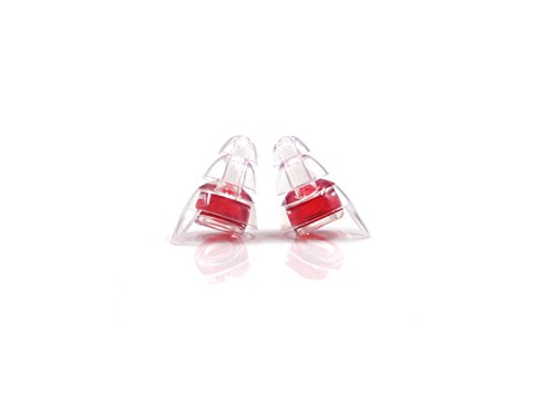 Lysian High Fidelity Ear Plugs 2 Pair Professional Musician Earplugs for Concerts Musicians Motorcycles and More by Lysian (Image #3)