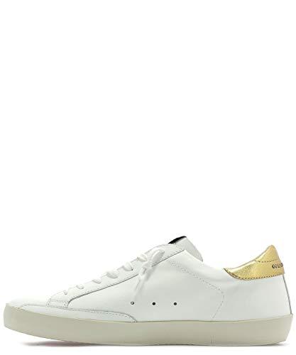 Golden Goose Uomo Pelle Sneakers Bianco G34ms590n33 O8gO4Tq