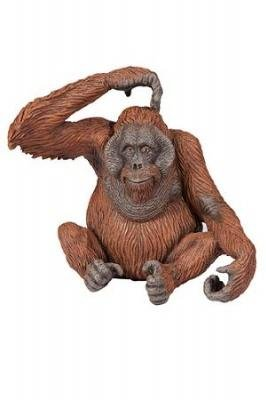 Papo Sitting Orangutan Toy Figure