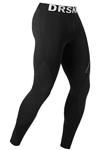 DRSKIN Men's Compression Dry Cool Sports Tights