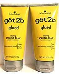 (Got2B Glued Spiking Glue 6 Ounce (Pack of 2))
