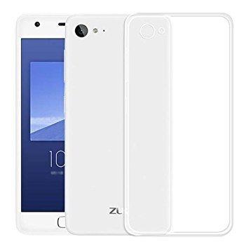 Thinkzy Transparent Soft Back Case Cover for Lenovo Zuk