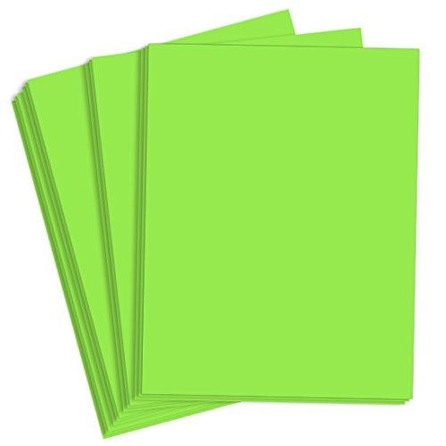 Astrobright Martian Green Paper - 8 1/2 x 11, 60lb Text, 5000 Pack