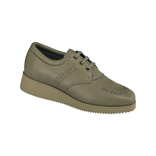 Drew Shoe Womens Bounce Oxfords Taupe BO8E5qDP3w