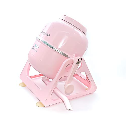 The Laundry Alternative Wonderwash Retro Colors Non-electric Portable Compact Mini Washing Machine (Pink)