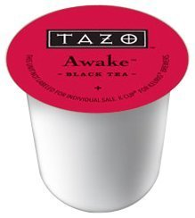 Tazo Tea K-Cup Awake, K-Cup Portion Pack for Keurig K-Cup Brewers, 10- Count (Pack of 3) by Starbucks [Foods]