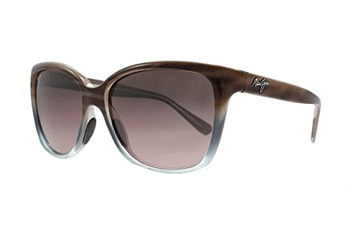 Maui Jim Starfish RS744-22B   Polarized Sandstone with Blue Fashion Frame Sunglasses, with with Patented PolarizedPlus2 Lens Technology