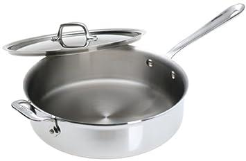 allclad stainless 4quart saute pan