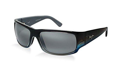 Maui Jim World Cup 266-03F Marlin Wrap Frame Polarized Sunglasses Neutral ()