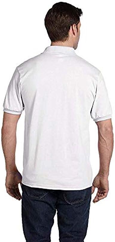 Hanes EcoSmart 5.2-Ounce Jersey Knit Sport Shirt