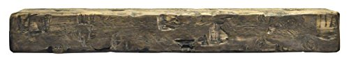 Dogberry Collections Solid Timber Mantel Shelf, Driftwood, 72