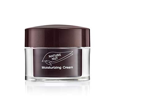 Nature Nut Moisturizing Face Cream - Vegan rich formula based on Hyaluronic Acid, Jojoba Oil & Chia Seeds. clinically tested for sensitive skin, rich in Vitamin-E, Omega-3, 6 & 9