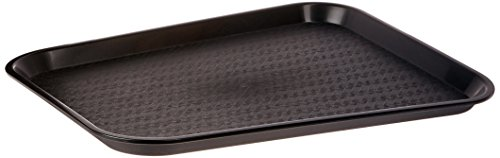Winco FFT-1418K Fast Food Tray, 14-Inch by 18-Inch, Black