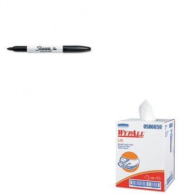KITKIM05860SAN30001 - Value Kit - Wypall 05860 Professional Towels (KIM05860) and Sharpie Permanent Marker (SAN30001)