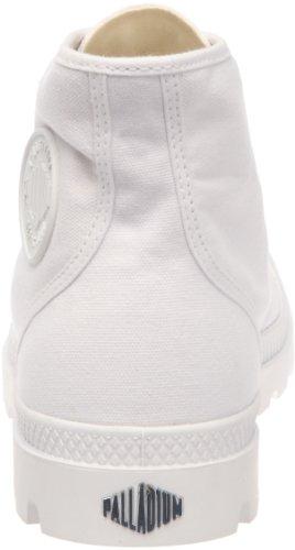 Palladium Pampa HI Blanc, Unisex - Erwachsene Halbstiefel Weiß (White/white)