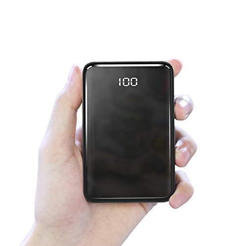 Power Bank P31 Smallest and Lightest 10000mAh External Batteries, Ultra-Compact, High-Speed Charging Technology Power Bank for iPhone, Samsung Galaxy and More
