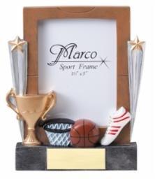 Basketball Photo Frame Award - BASKETBALL PICTURE FRAME