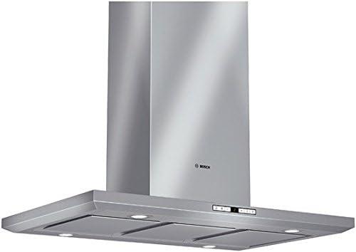 Bosch DIB09T150 - Campana (830 m³/h, Canalizado/Recirculación, 73 dB, Isla, Acero inoxidable, Acero inoxidable): Amazon.es: Hogar