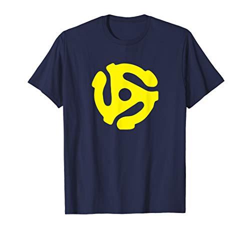 45 RPM ADAPTER DJ SHIRT | Vintage spider record T-SHIRT (Old School Vintage T-shirt)