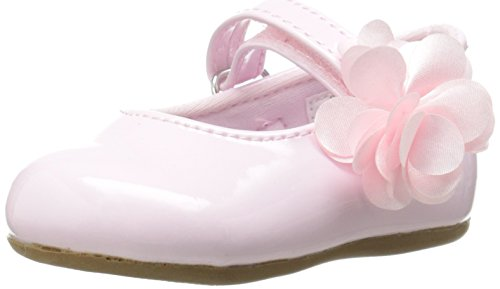 Baby Deer Girls' Patent Skimmer-K, Pink, 6 M US Toddler -