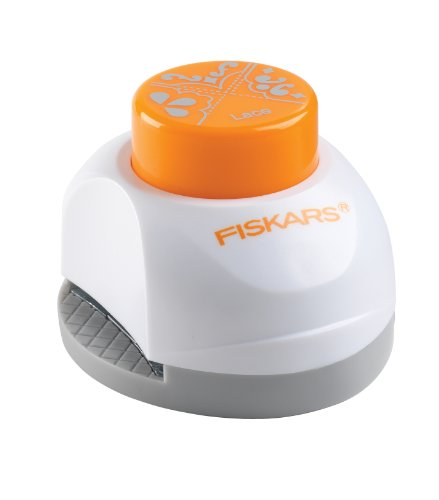 Fiskars 3-in-1 Corner/Border Punch, Lace 117290-1001) ()