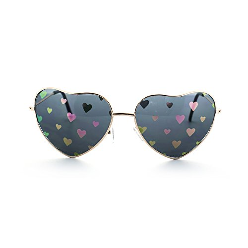 MLC Eyewear Love Fest High Fashion Heart Shaped Sunglasses - Heart Sunglasses Face Shaped