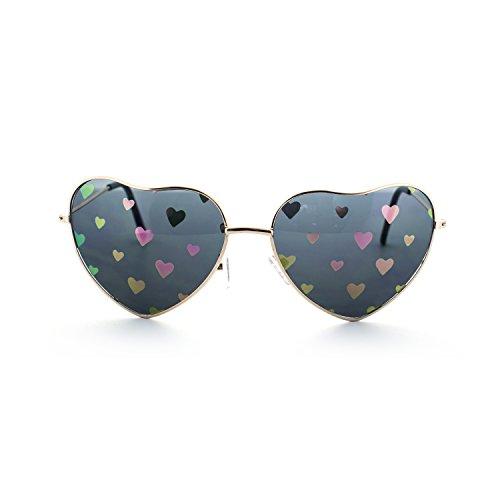MLC Eyewear Love Fest High Fashion Heart Shaped Sunglasses - Heart Shaped Face A Sunglasses For