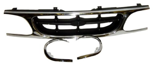 OE Replacement Ford Explorer Grille Assembly (Partslink Number FO1200374) 2001 Ford Explorer Grille
