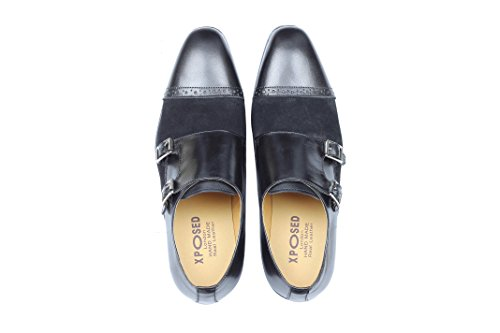 Noir Homme Homme Chaussures Derby Noir Xposed Xposed Chaussures Derby Chaussures Xposed xEwzqd