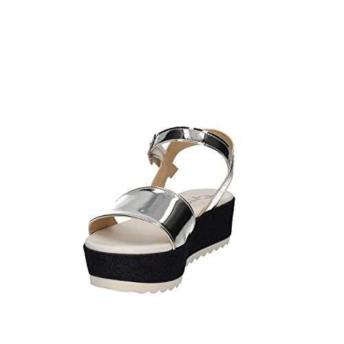 Grace Shoes Maratea 11 F 0 Sandalias Altos Mujeres Plata
