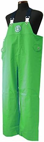 KURAHUTERU(クラフテル) イカリ印 フィッシャーマン レインウエアー胸付ズボン 2L グリーン 11EA141