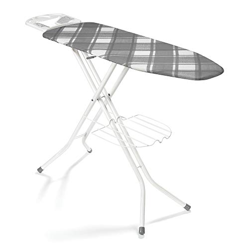 """Polder IB-1558BBB Deluxe Ironing Board, 48"""" x 15"""", Includes Cover and Pad"""