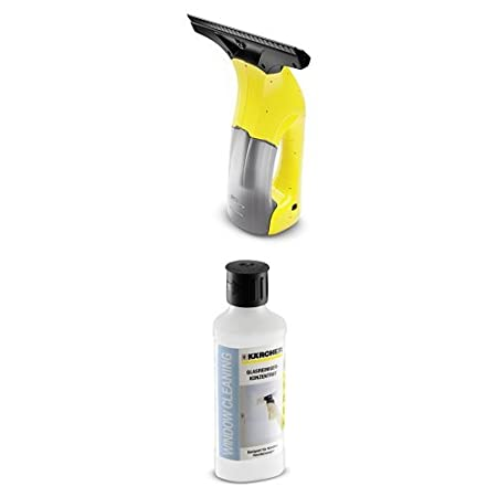 Kä rcher Window Vac WV 1 for windows, tiles, mirrors & shower screens, window cleaning set, window vacuum, efficient & reliable Kärcher 1.633-011.0