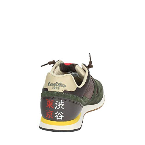 Lotto 41 Black EU Uomo Sneakers t7391 Army xrfUaZx