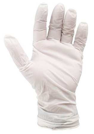 Cleanroom Gloves, Nitrile, S, 6 mil, PK100