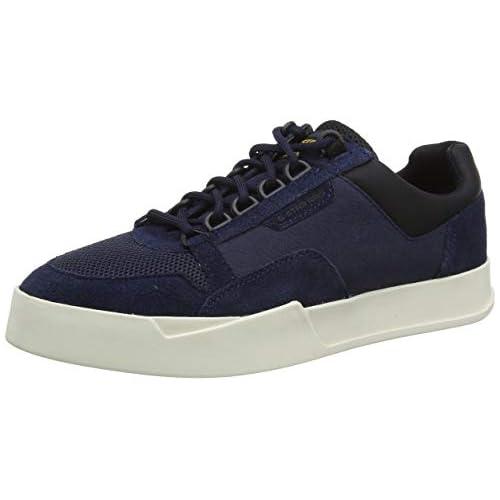 chollos oferta descuentos barato G STAR RAW Rackam Vodan Low II Zapatillas Hombre Azul dk saru Blue C243 6486 40 EU