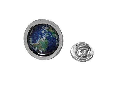 Planet Earth Design Lapel Pin from Kiola Designs