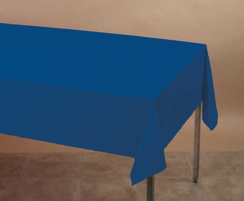 Navy Blue 2 Ply Paper Tablecloth