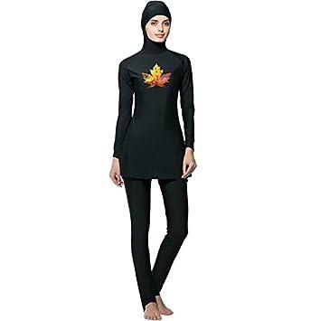 3a0a09853b Mr Lin123 Muslim Women Spa Swimwear Islamic Swimsuit Full Face Hijab  Swimming Beachwear Swimsuit Sport Clothing