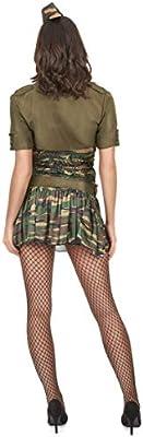 Disfraz militar mujer S: Amazon.es: Juguetes y juegos