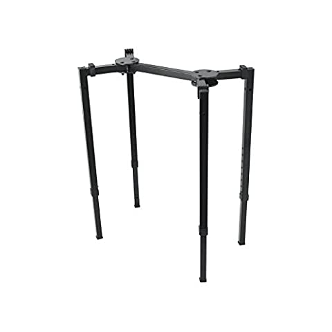 On Stage Heavy Duty Mixer or Keyboard Stand, Medium - Stage Accessories