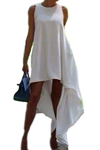 Alto bajo Vestido de fiesta vestido Casual de las mujeres