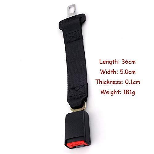 MeterMall Seat Belt Extension Car Auto Seat Belt Safety Belt Extender Extension Buckle Seat Belts Extender