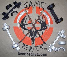 Game Reaper Remington 700-Long Action-Medium Mount (Silver, 1 inch) by Game Reaper