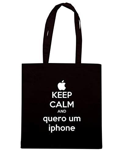 Borsa Shirt CALM IPHONE QUERO KEEP Nera Shopper AND TKC3304 Speed UM ZBqRPxxw