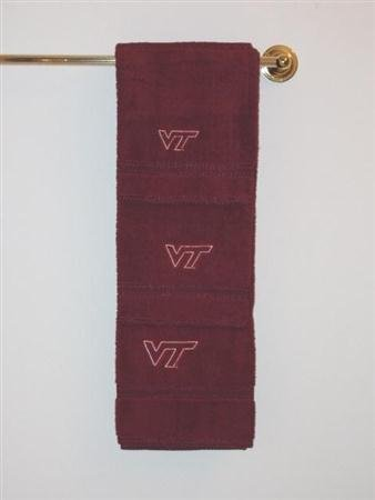 Championship Home Accessories Virginia Tech Hokies 3 Piece Bath Towels