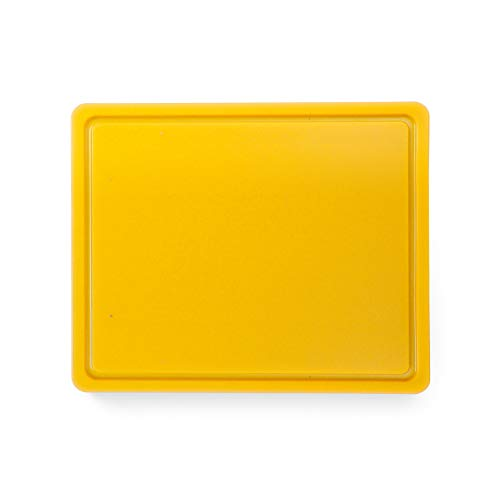 HENDI 826157 Snijplank HACCP Gastronorm 1/2 – Geel – 260x320x(H)12 mm