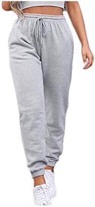 Sweatpants for Teen Girls,Women's High Waisted Joggers Summer Workout Baggy Yoga Pants Cinch Bottom Trousers